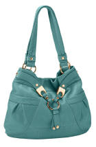 Blue Patent Leather Bags