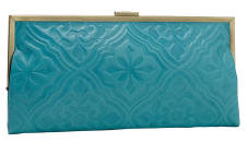 Blue Clutch Purse