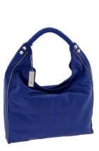 Blue Patent Handbag