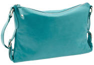 Blue Clutch Purse Leather